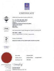 ISO 9001 - SIRIM