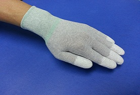 Carbon PU Glove